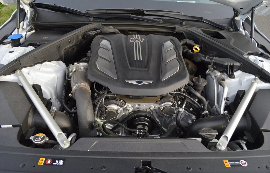 2019 Hyundai Genesis Sedan Engine