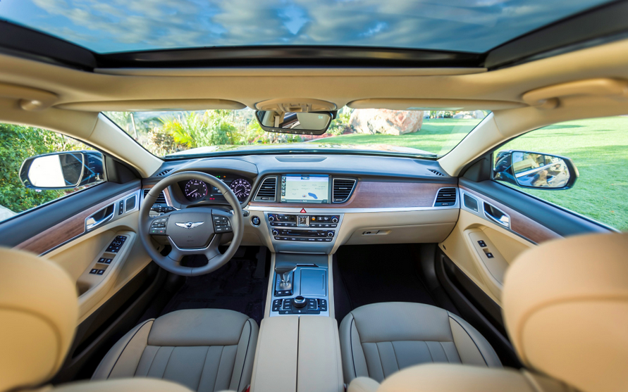 2019 Hyundai Genesis Sedan Interior