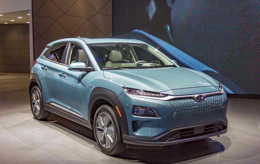 2019 Hyundai Kona Hybrid Exterior