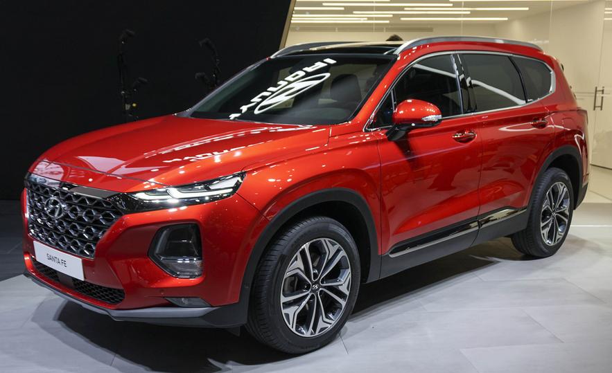 2019 Hyundai Santa Fe 2.0 Exterior