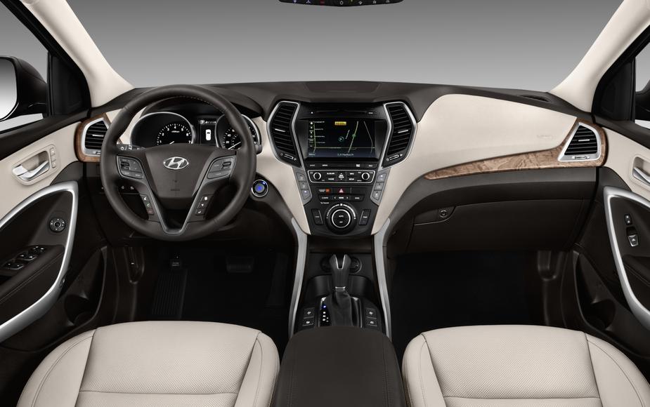 2019 Hyundai Santa Fe 2.0 Interior