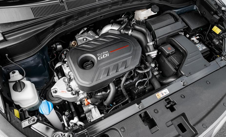 2019 Hyundai Santa Fe 7 Passenger Engine