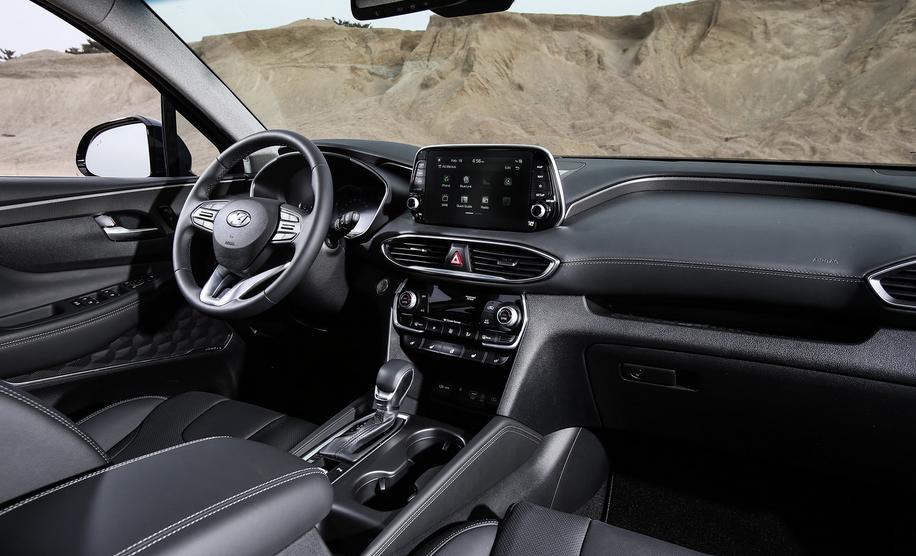 2019 Hyundai Santa Fe 7 Passenger Interior