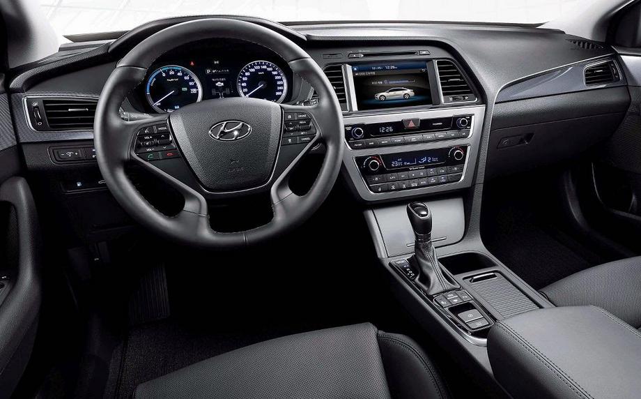 2019 Hyundai Sonata MPG Interior