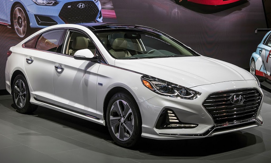 2019 Hyundai Sonata Sport 2.0T Exterior