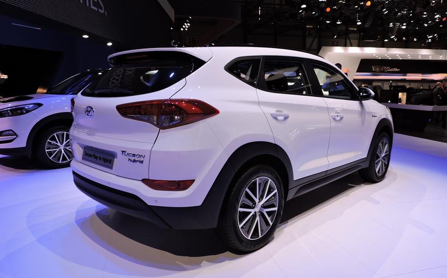 2019 Hyundai Tucson Hybrid Concept
