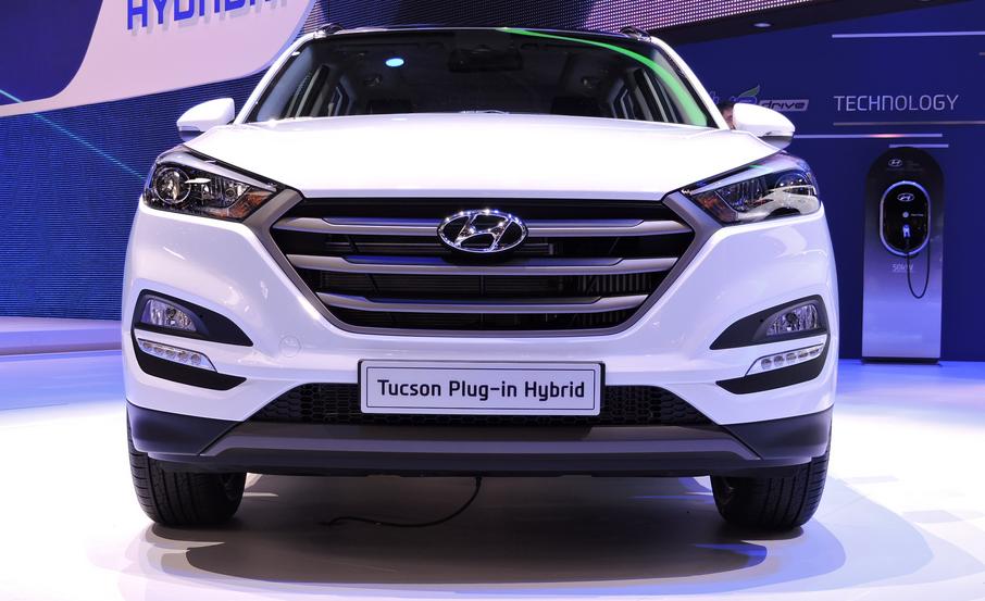 2019 Hyundai Tucson Hybrid Exterior