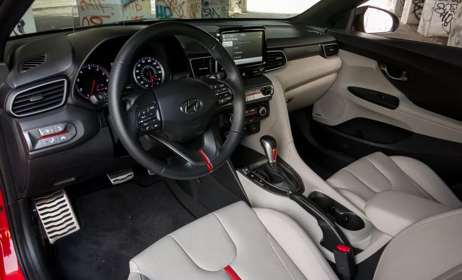 2019 Hyundai Veloster MSRP Interior