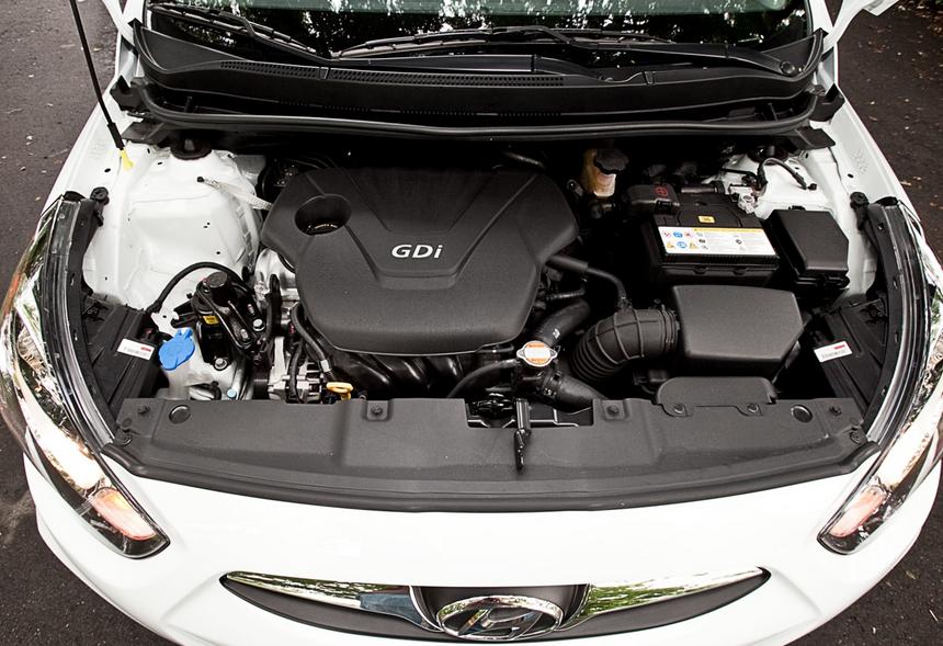 2019 Hyundai Xcent Engine