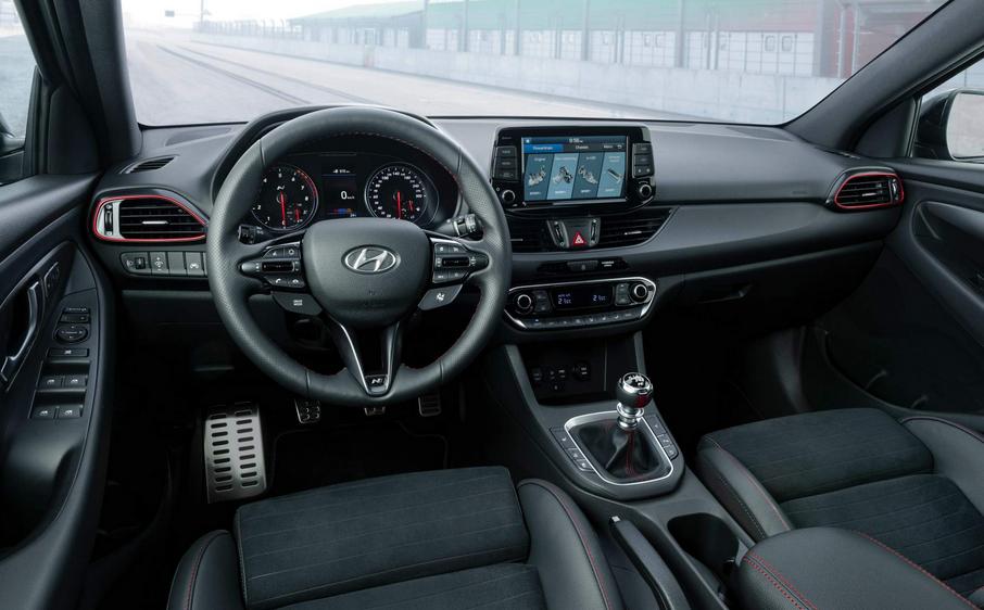 2019 Hyundai i30 Fastback N Interior