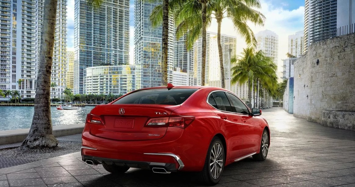 2020 Acura TLX A Spec Engine