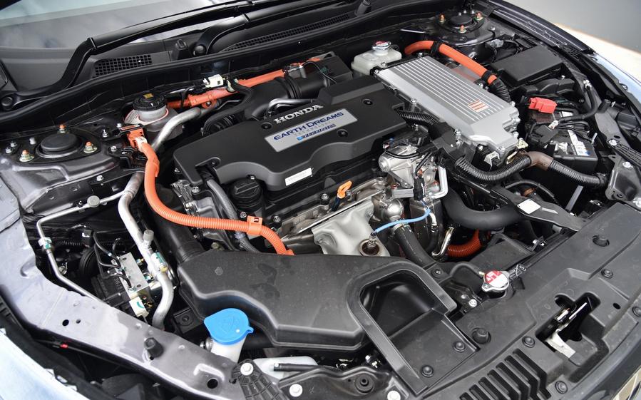 2020 Honda Accord Touring Engine