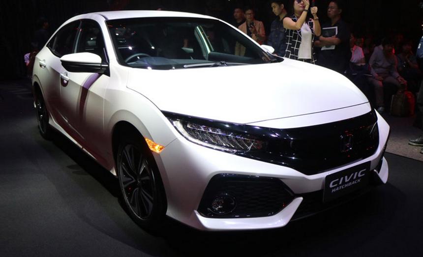 2020 Honda Civic Hatchback Exterior