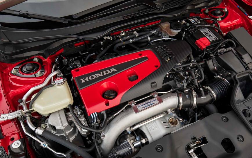 2020 Honda Civic Type R AWD Engine