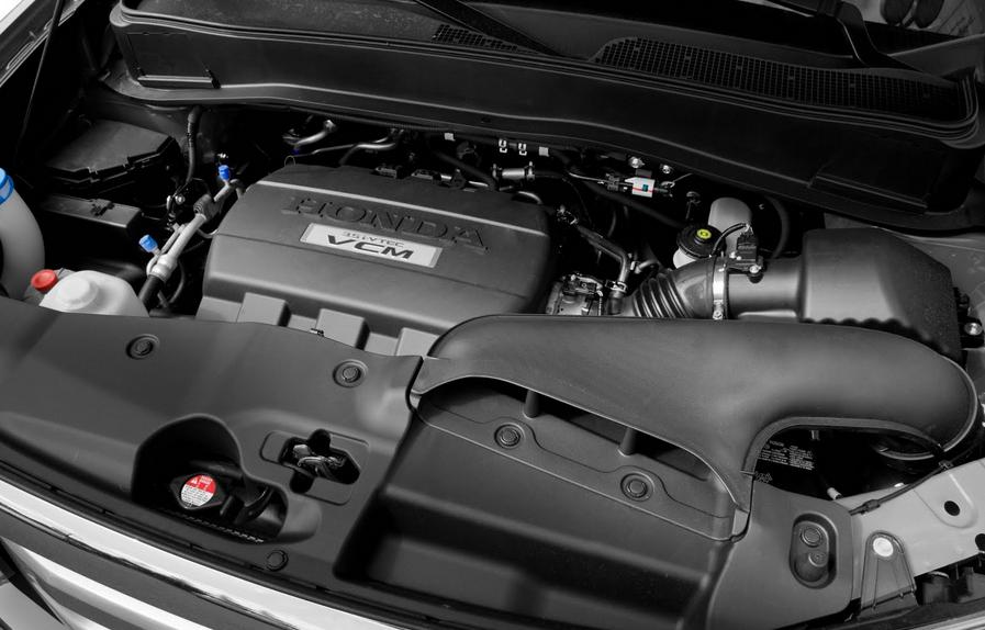 2020 Honda Pilot Elite Engine