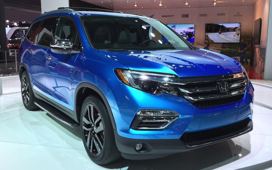 2020 Honda Pilot Redesign Exterior