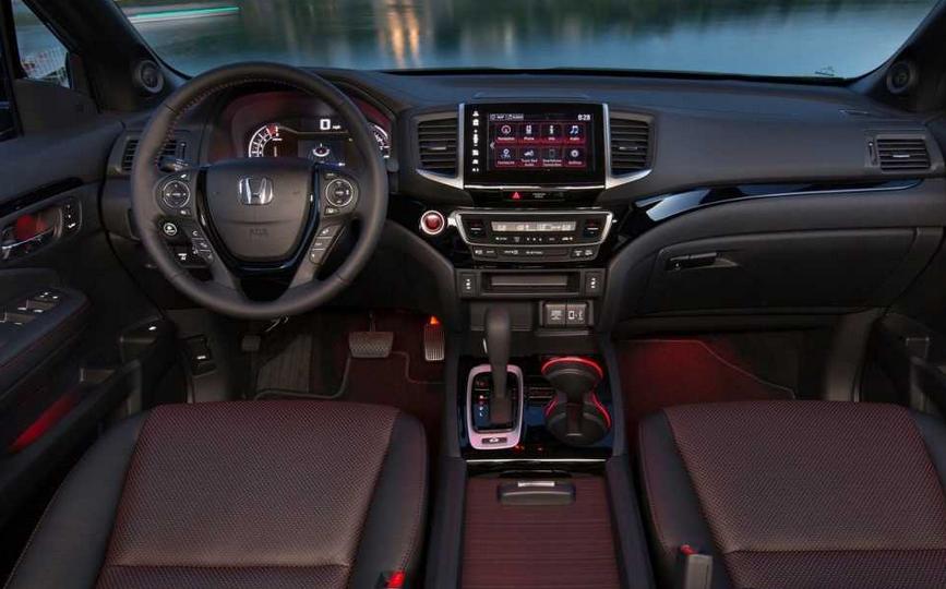2020 Honda Ridgeline Hybrid Interior