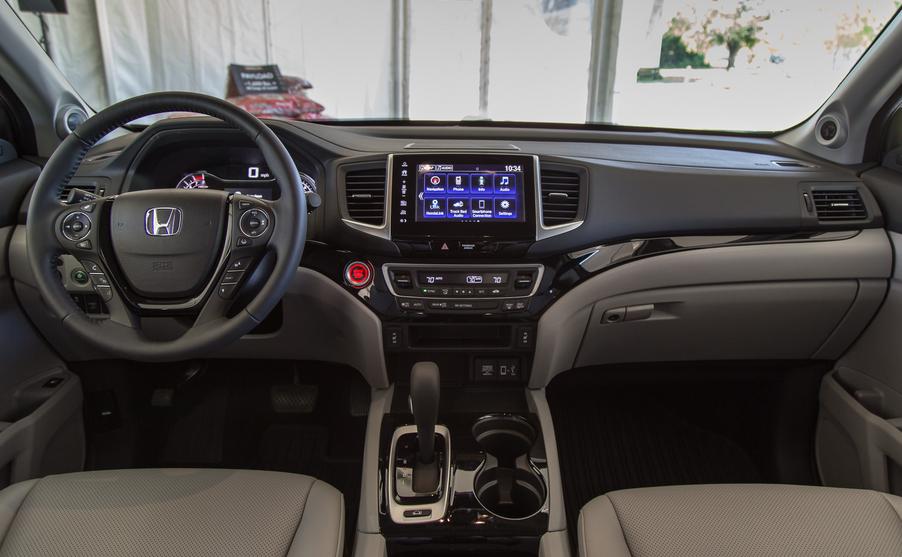 2020 Honda Ridgeline Refresh Interior