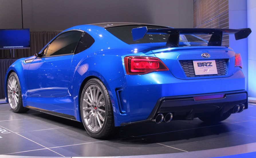 2020 Subaru BRZ STI Concept