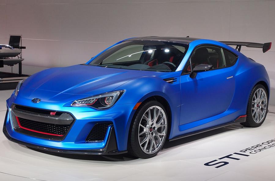 2020 Subaru BRZ STI Exterior