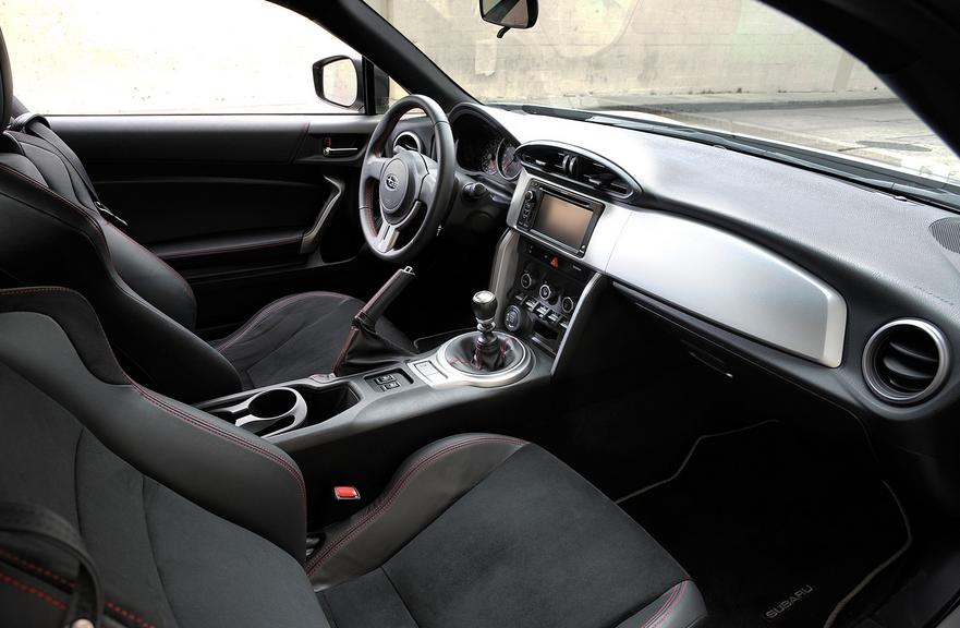 2020 Subaru BRZ STI Interior