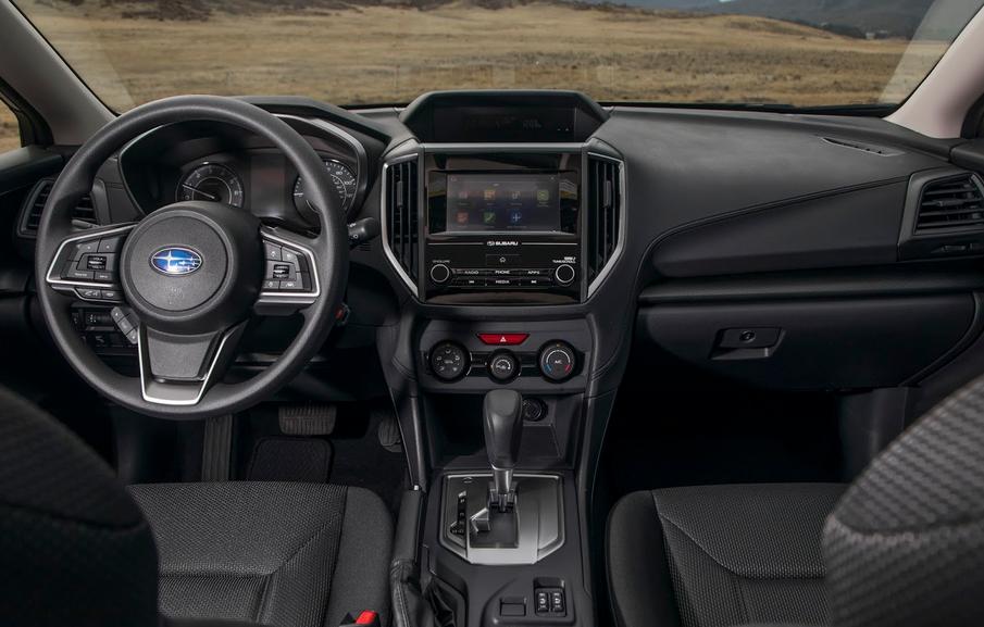 2020 Subaru Hatchback Interior