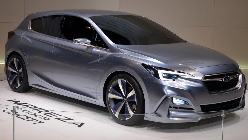 2020 Subaru Impreza Hatchback Exterior