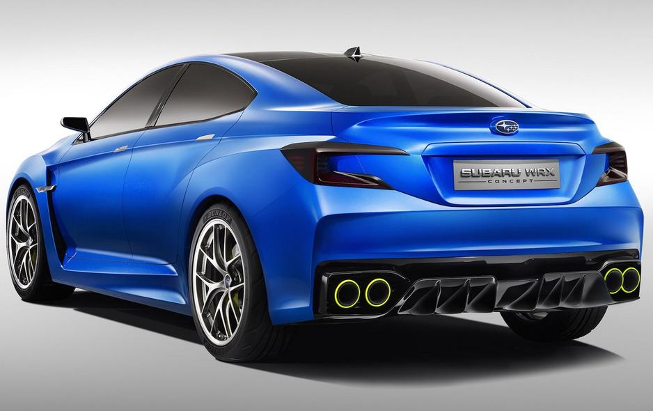2020 Subaru Impreza STI Concept