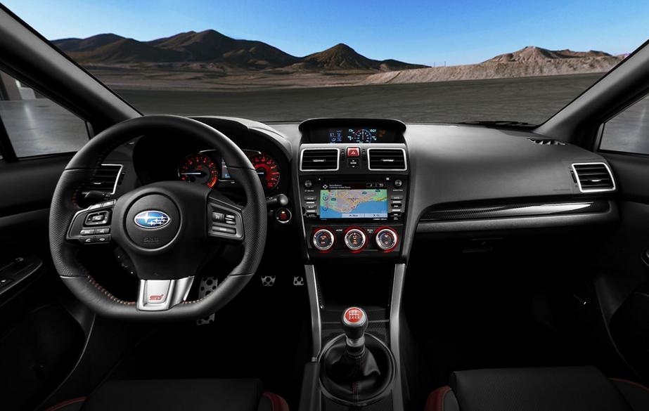 2020 Subaru Impreza STI Interior