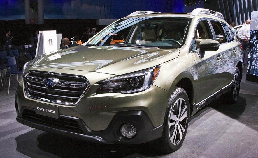 2020 Subaru Outback Reveal Exterior