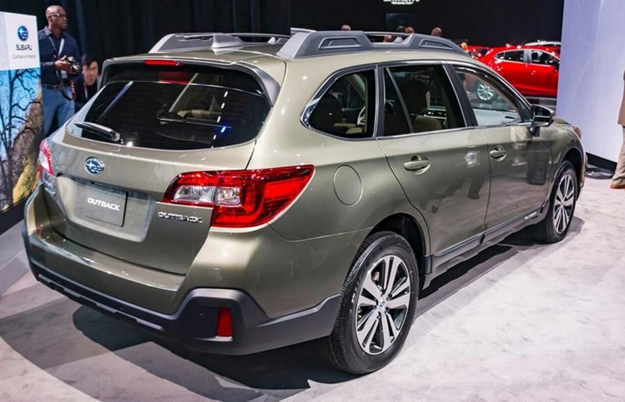 2020 Subaru Outback Spy Shots Concept