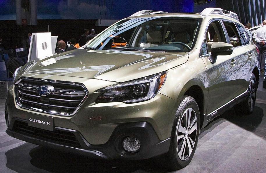 2020 Subaru Outback Spy Shots Exterior