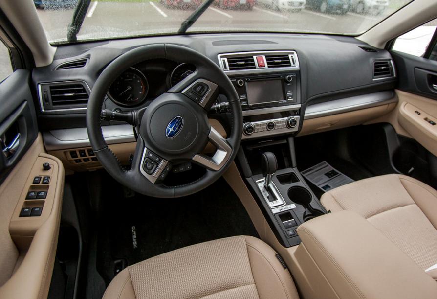 2020 Subaru Outback Spy Shots Interior