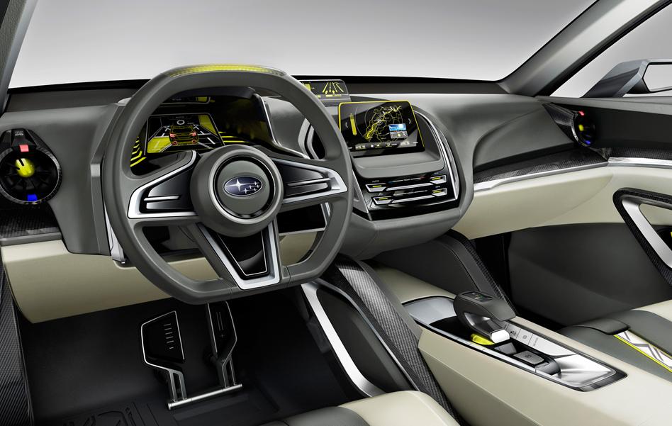 2020 Subaru Pickup Interior