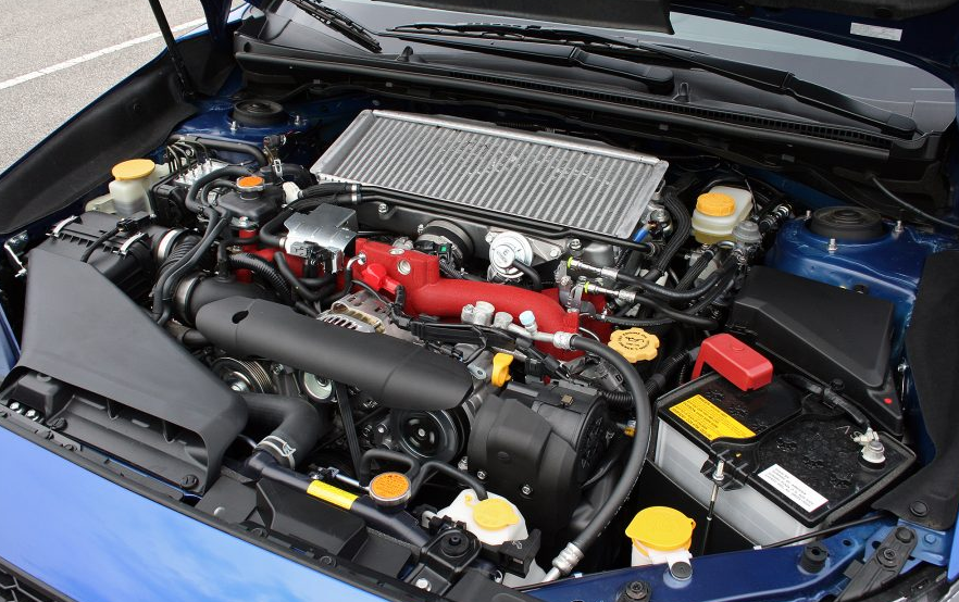 2020 Subaru STI Hatchback Engine