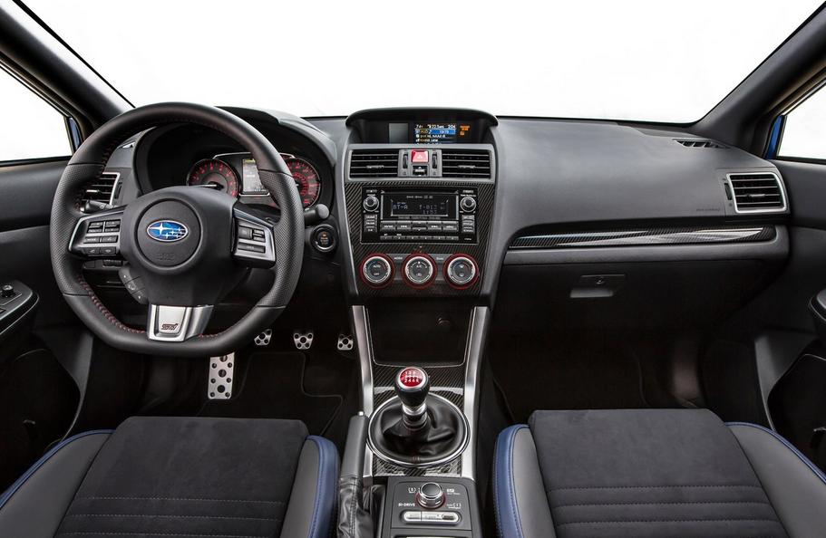 2020 Subaru STI Hatchback Interior