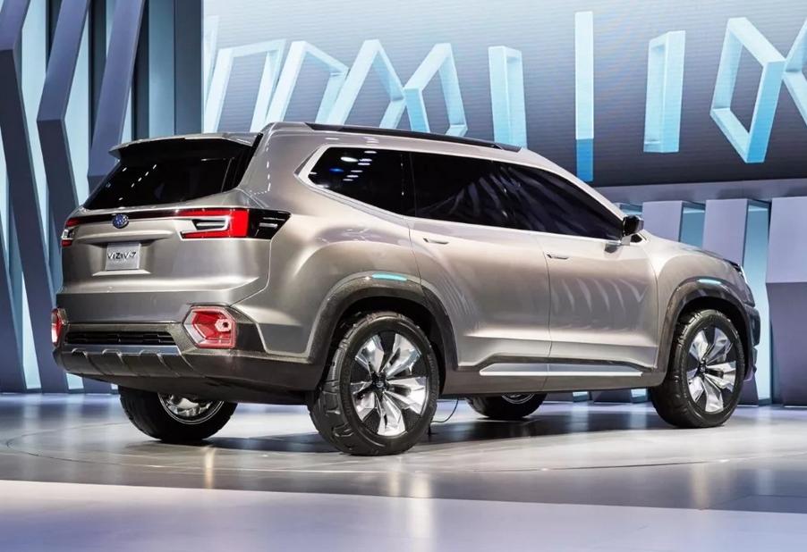 2020 Subaru Tribeca Concept