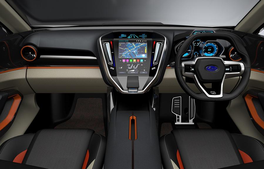 2020 Subaru Viziv Interior