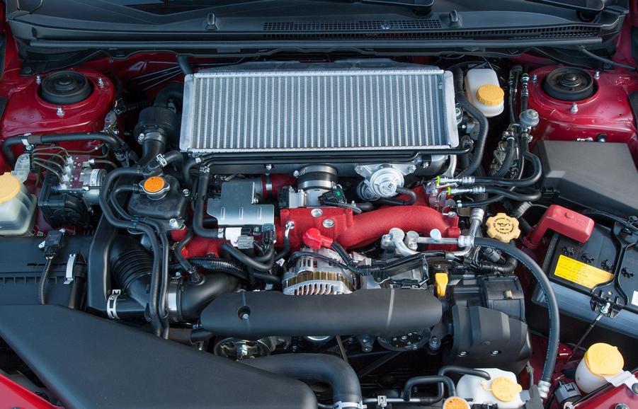 2020 Subaru WRX STI Horsepower Engine
