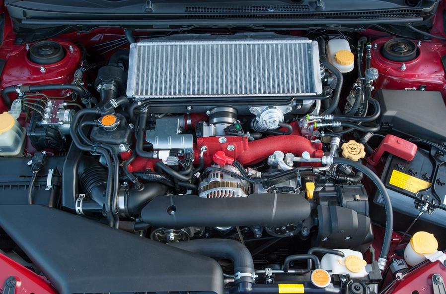 2020 Subaru WRX STI S209 Engine
