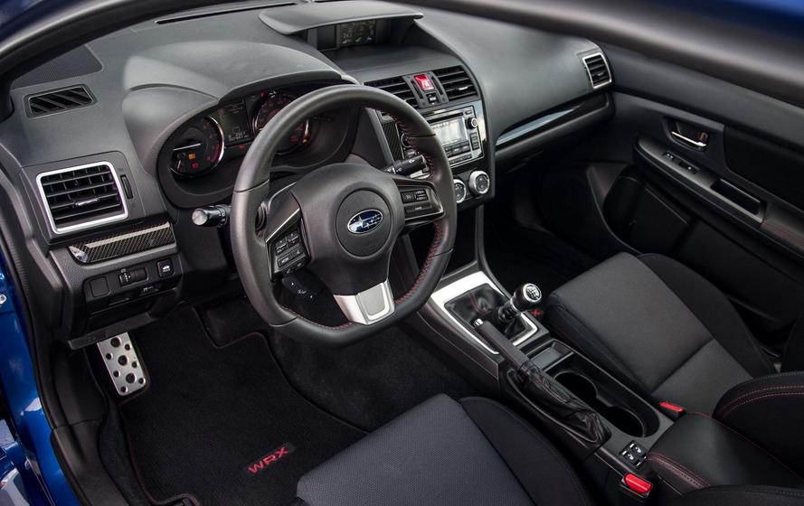 2020 Subaru WRX Wagon Interior