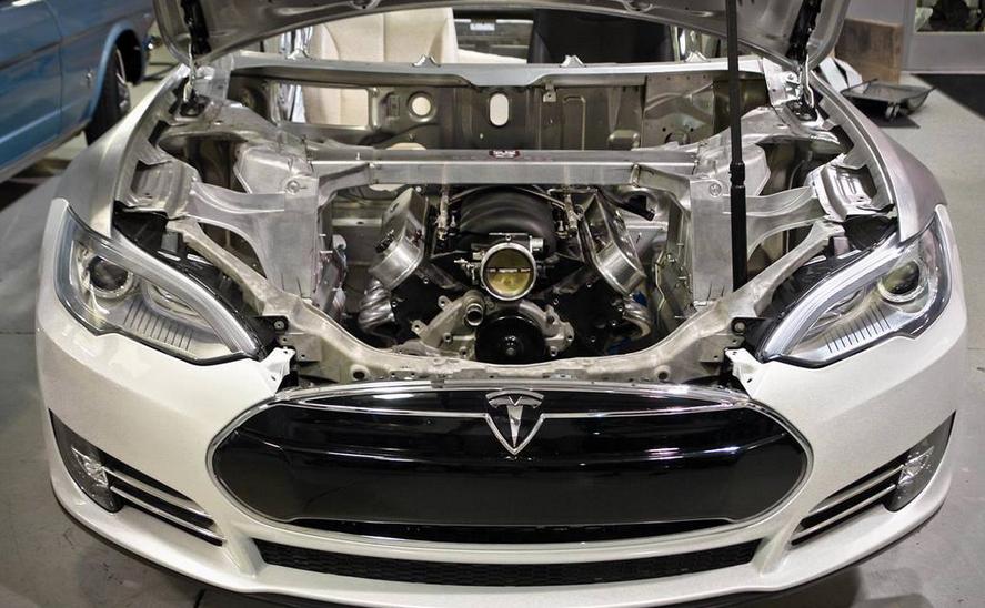 2020 Tesla Model 3 Engine