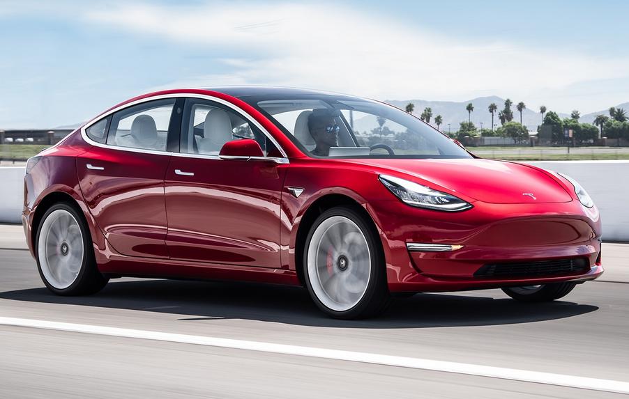 2020 Tesla Model 3 Exterior