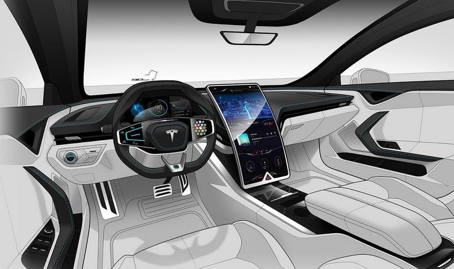 2020 Tesla Model 3 Interior