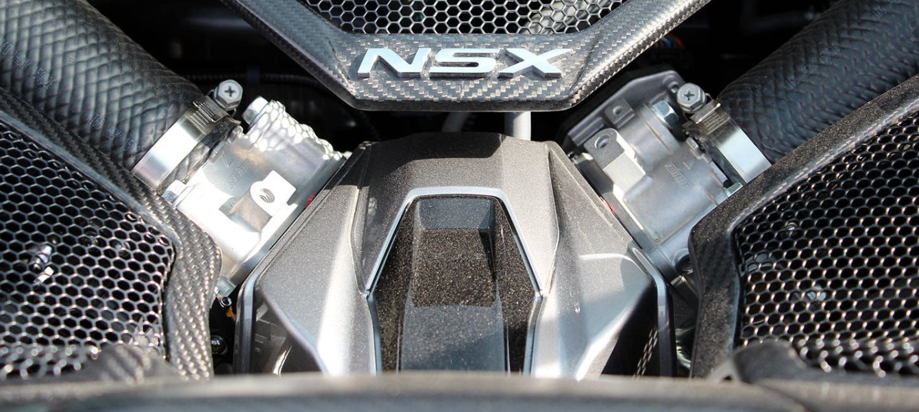 2021 Acura NSX Engine