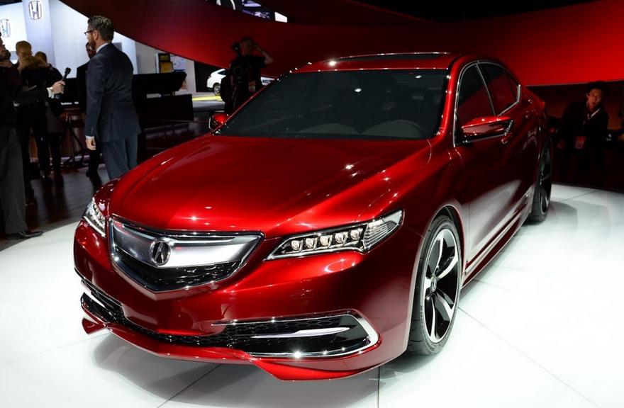2021 Acura TLX Exterior