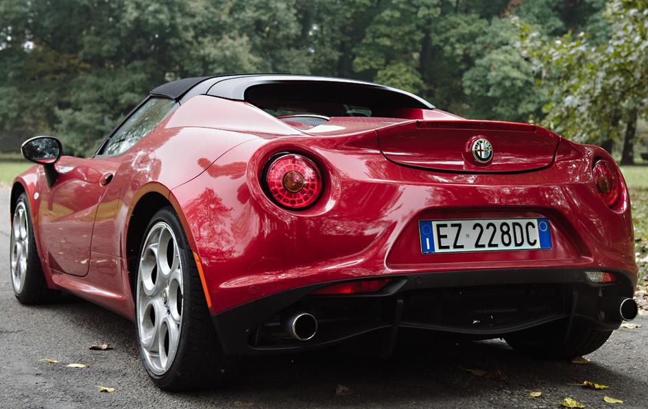 2021 Alfa Romeo 4C Concept