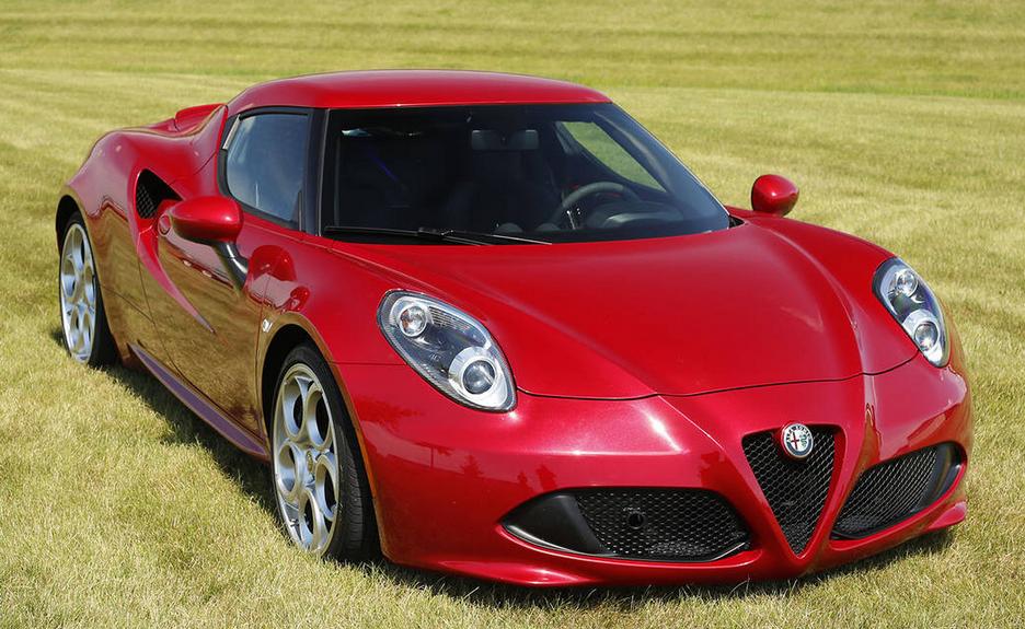 2021 Alfa Romeo 4C Exterior