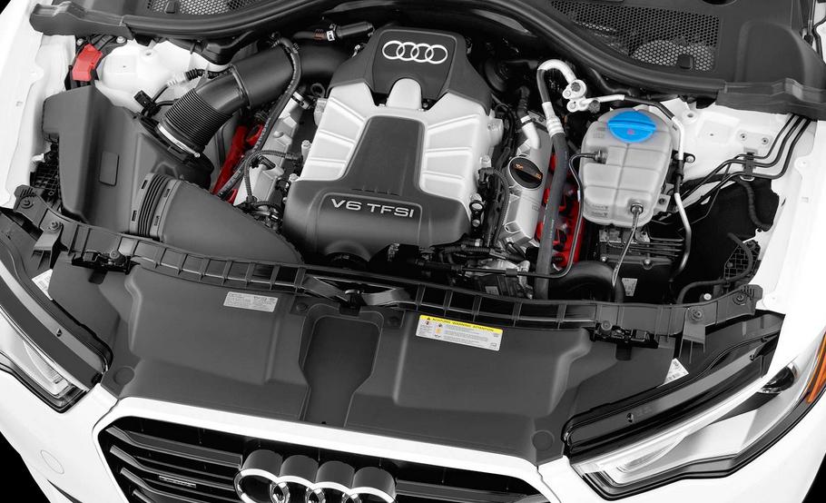2021 Audi A6 Engine