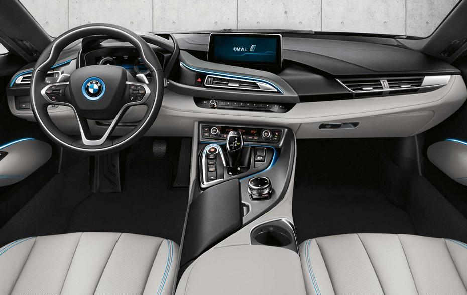 2021 BMW I8 Interior